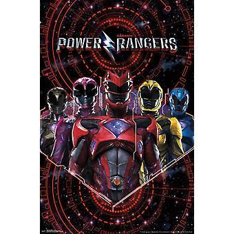 Power Rangers - Group Poster Print