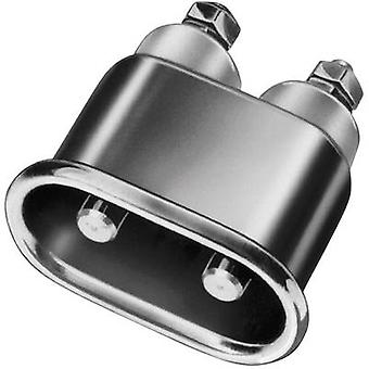 Hot wire connector Series (mains connectors) 344 Plug, vertical mount