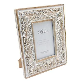 6x4 Olivia Wooden Photo Frame