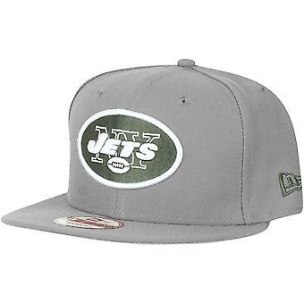 Myrsky harmaa uuden aikakauden 9Fifty Snapback lippis - New York Jets