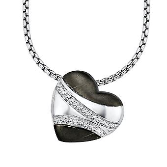 s.Oliver jewel ladies chain necklace silver Zyrkonia SO829/1 - 418607