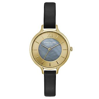 Kenneth Cole New York women's wrist watch analog quartz leather KC15187003