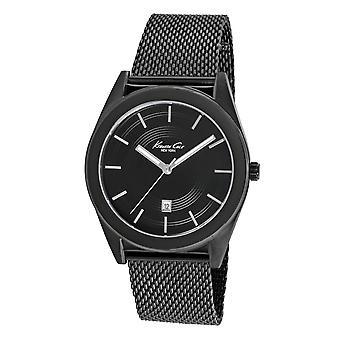 Kenneth Cole New York Herren-Armbanduhr Analog Edelstahl 10018753 / KC9371