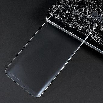 Premium 0,3 mm gebogenes Hartglas Transparent Folie für Samsung Galaxy S8 Plus G955 G955F