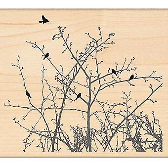 Penny Black Mounted Rubber Stamp 4