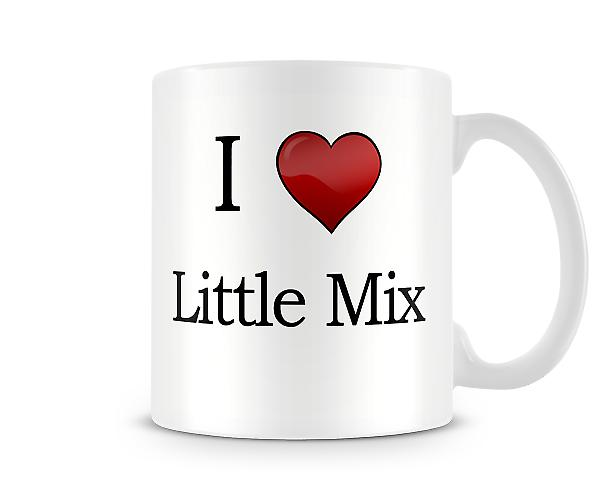 I Love Little Mix Printed Mug