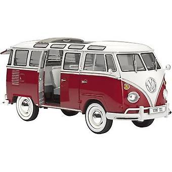 Revell 07399 VW T1 Samba Bus Car model assembly kit 1:24
