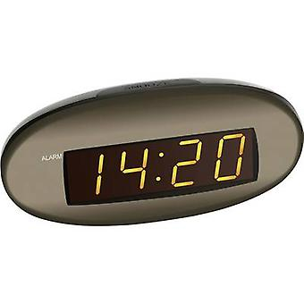 TFA 60-2005 Quartz Alarm clock Brown Alarm times 1