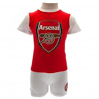 Arsenal T Shirt & Short Set 12/18 mths