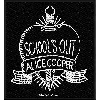 Alice Cooper School'S Out B&W Sew-On Cloth Patch