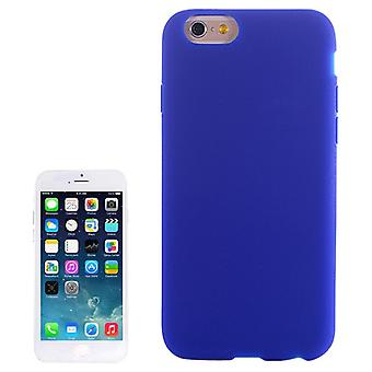Apple iPhone 6 plus cell phone cover silicone blue / dark blue