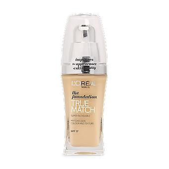 L ' Oréal True Match flüssige Foundation D3. W3 Golden Beige 30ml