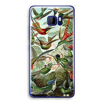 HTC U Ultra Transparent Case (Soft) - Haeckel Trochilidae