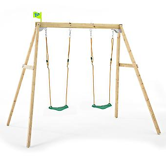 TP Toys Forest Wooden Double Swing Set For Ages 3 - 10 years