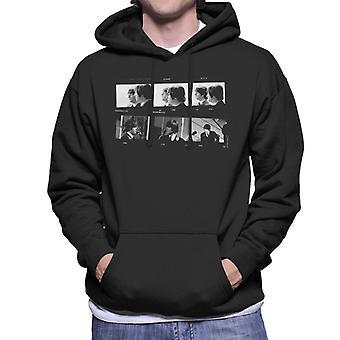 TV gange Beatles Lennon McCartney foto Strip mænds hættetrøje