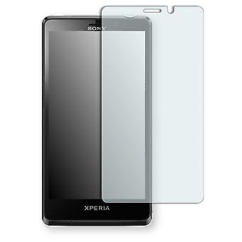 Sony Xperia LT30 display protector - Golebo crystal clear protection film
