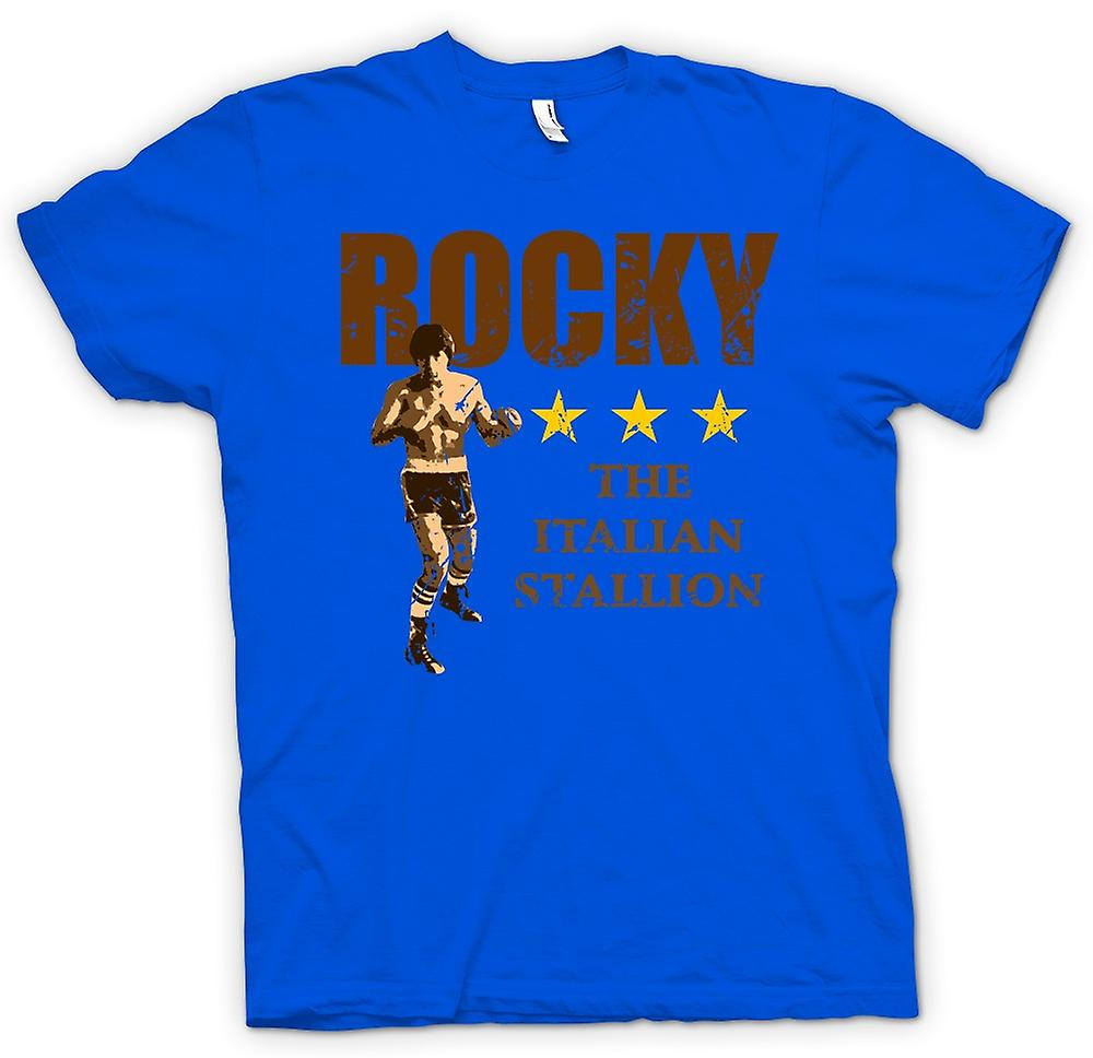 Mens T-shirt - Rocky The Italian Stallion - Boxing