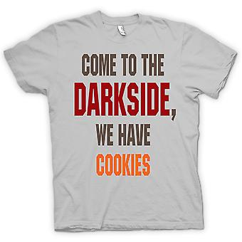 200bc6777 Mens T-shirt - Come To The Darkside, We Have Cookies - Funny