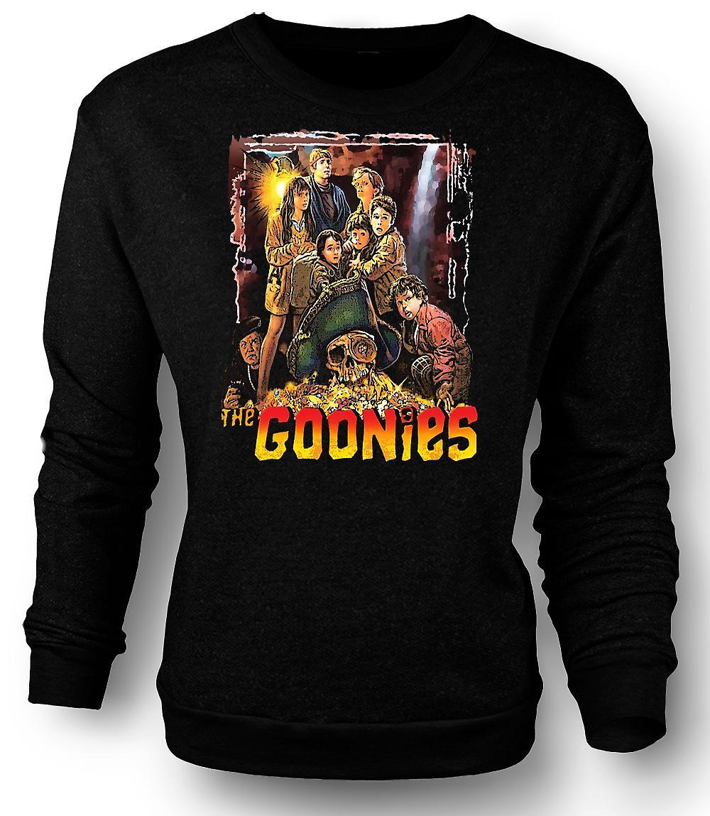 Mens Sweatshirt The Goonies Treasure - Movie