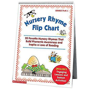 Nursery Rhyme blädderblock: 20 favorit barnvisor som bygger fonematisk medvetenhet och inspirera kärlek till läsning