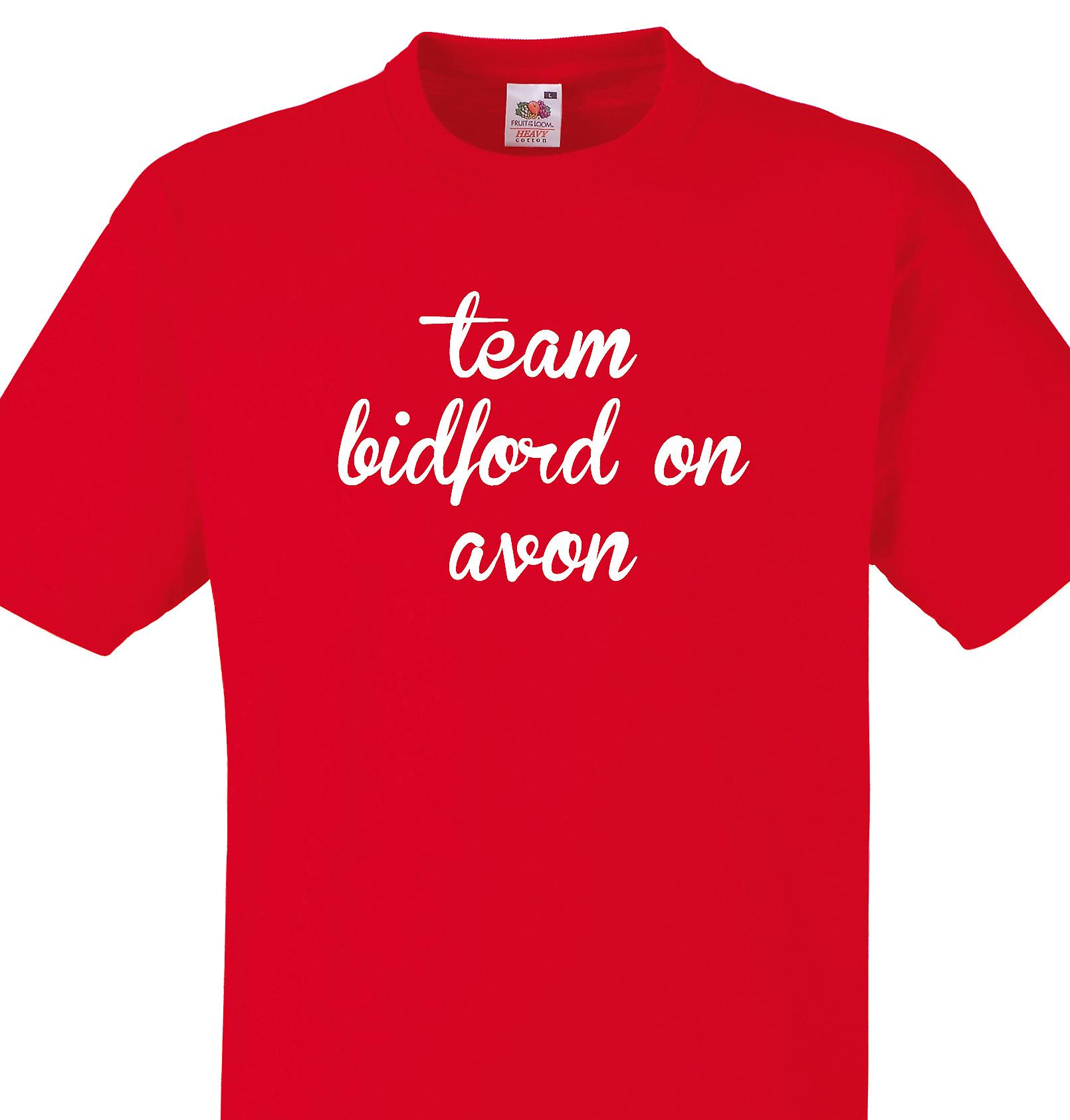 Team Bidford on avon Red T shirt