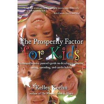 The Prosperity Factor for Kids: A comprehensive parent's guide to developing positive saving, spending, and credit habits