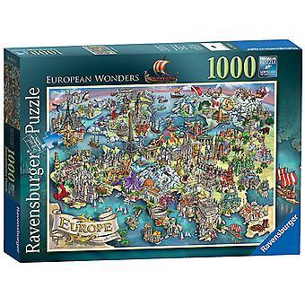ラベンスバーガー欧州驚異の 1000 pc ジグソー パズル