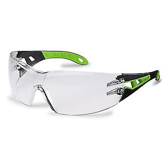 Uvex 9192-225 Pheos Clear Supravision HC-AF Safety Spectacles