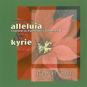 Robert Gass - Halleluja til Pachelbel kanon i D / Kyrie [CD] USA import