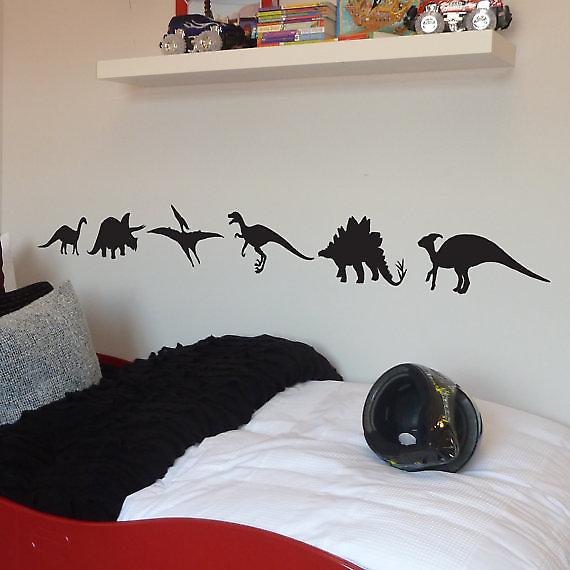 Dinosaurs pack of 6 Wall Stickers
