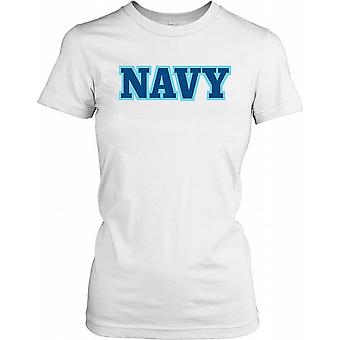 Navy - Naval Forces Ladies T Shirt