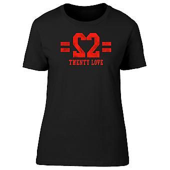 Sports Style Twenty Love Tee Men's -Image by Shutterstock