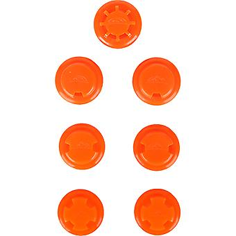 Elevation Training Mask 2.0 Flux Valves and Resistance Caps - Orange