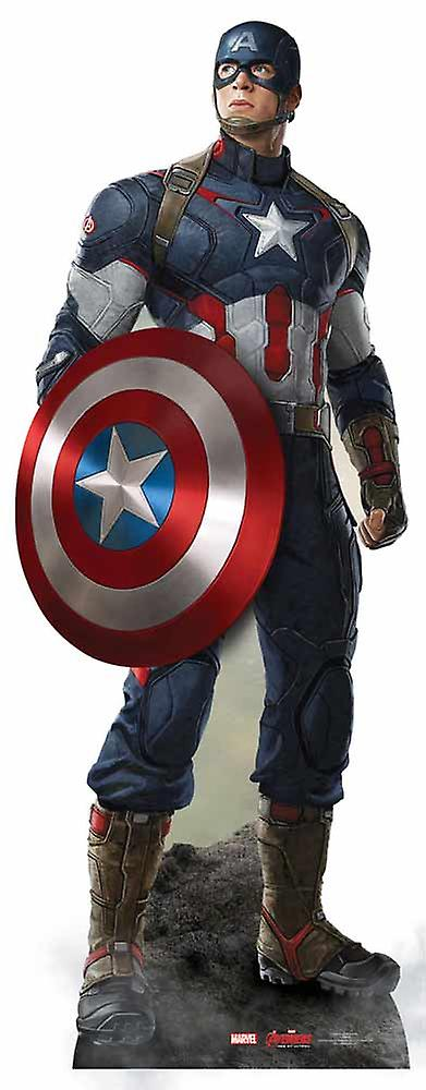 Captain America Avengers Age of Ultron Marvel Lifesize Cardboard Cutout / Standee / Standup