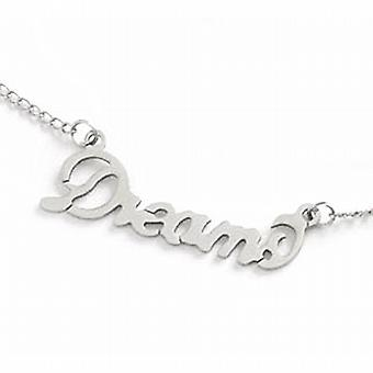 The Olivia Collection Base Metal & Stainless Steel 'Dreams' Necklace 16