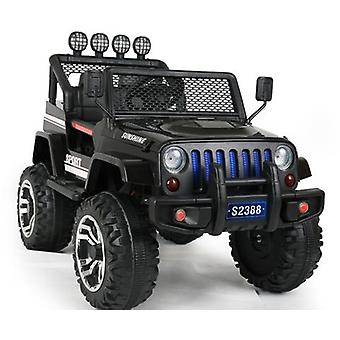 RideonToys4u 4 x 4 Jeep stilen barna 12V Electric Ride på bilen med fjernkontroll