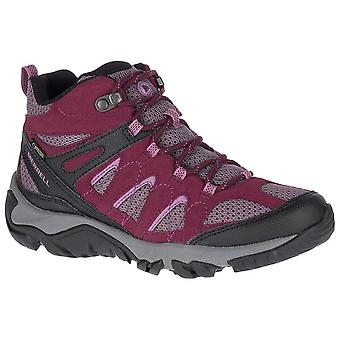 Merrell Fig Womens Outmost Vent Mid GTX Walking Boots