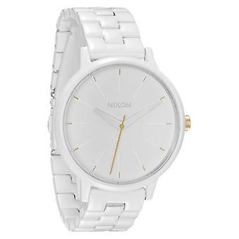 Nixon Kensington All White/Gold Damenuhr (A0991035)