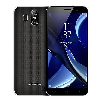 Homtom s16 huella dactilar 2gb ram + 16gb rom dual sim standby android 7.0 smartphone negro