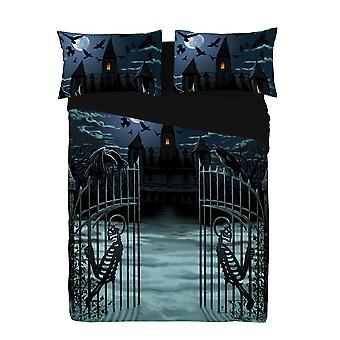 Wild star - enter if you dare - duvet & pillowcases covers set uk king/us queen