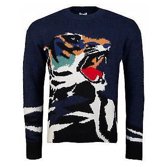 Kenzo Tiger intarsia tröja