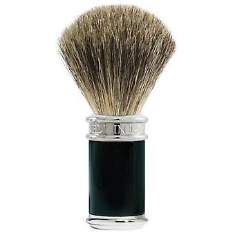 Round Black Badger - Ritable Blaireau Hair