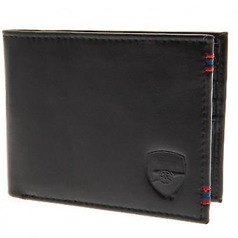 Arsenal Leather Stitched Wallet