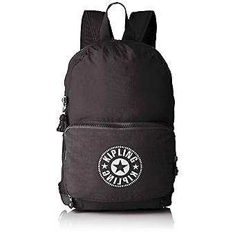 Kipling CLASSIC NIMAN FOLD Casual Backpack - 49 cm - 21 liters - Black (Lively Black)