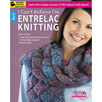 Leisure Arts I Can't Believe I'm Entrelac Knitting La 5773