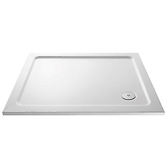 Premier Pearlstone 1400mm x 800mm Low Profile Shower Tray