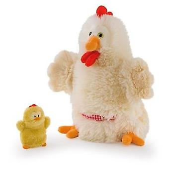 Trudi Hen with chick puppet 28cm (Toys , Preschool , Theatre And Puppets)