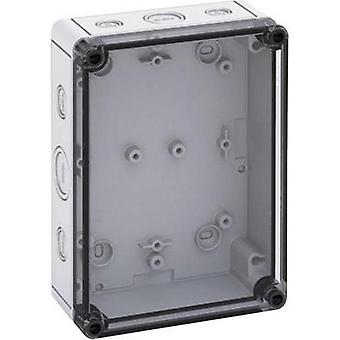 Build-in casing 130 x 180 x 63 Polycarbonate (PC) Light grey Spelsberg TK PS 1813-6F-TM 1 pc(s)