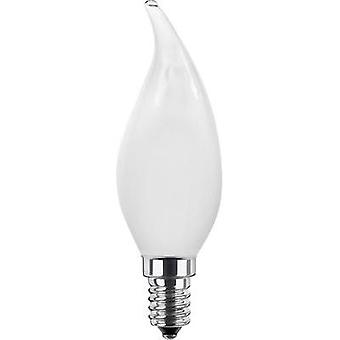 LED (monochrome) Segula 230 V E14 3.5 W = 25 W Warm white EEC: A+ Candle angular (Ø x L) 35 mm x 111 mm Filament, dimmab