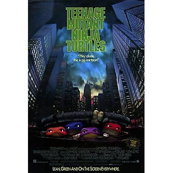 Teenage Mutant Ninja Turtles the Movie Movie Poster (11 x 17)